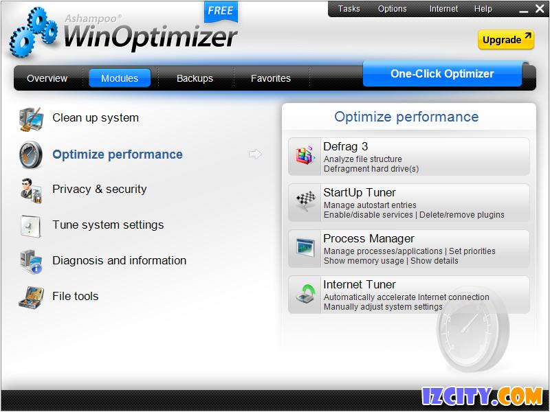 Ashampoo WinOptimizer