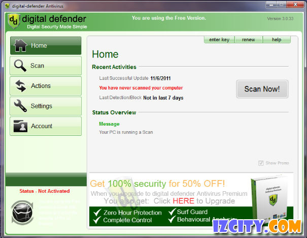 Digital Defender Antivirus Free
