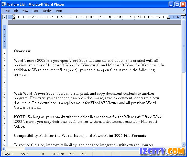 Microsoft Word Viewer