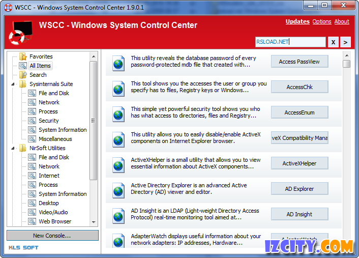 WSCC (Windows System Control Center)